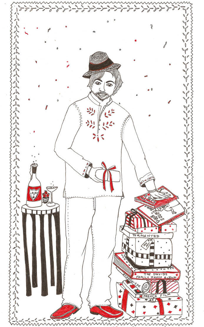 Portraits With Love Illustrations By Karishma Chugani Nankani
