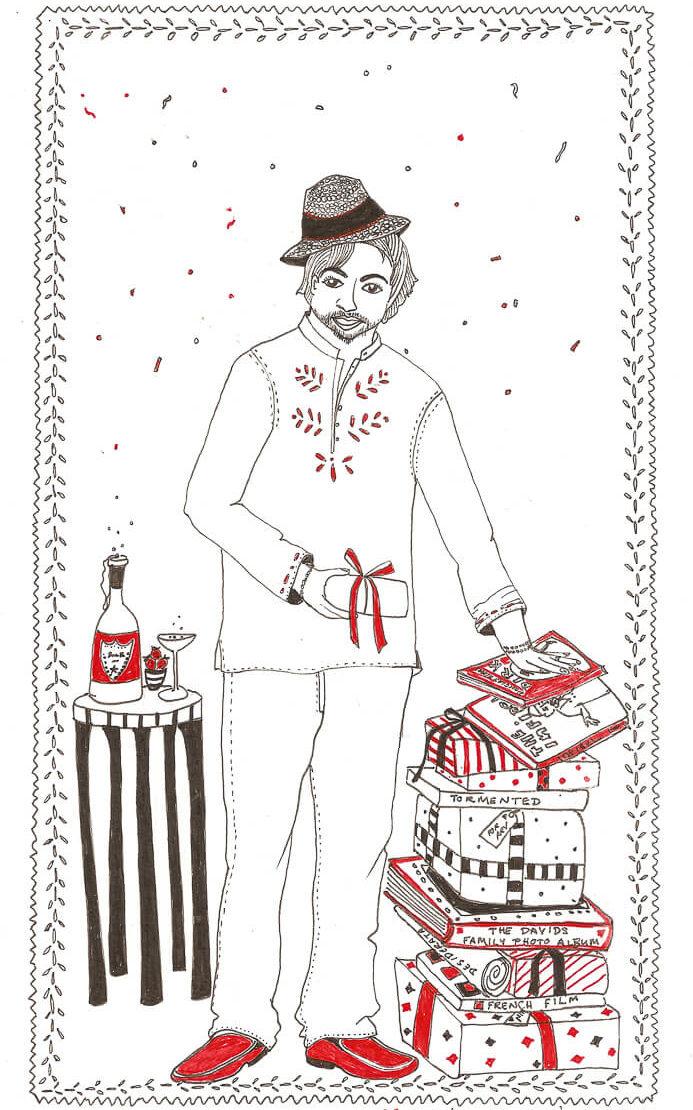 Portraits With Love Illustrations By Karishma Chugani Nankani